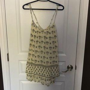 Zara flower summer dress